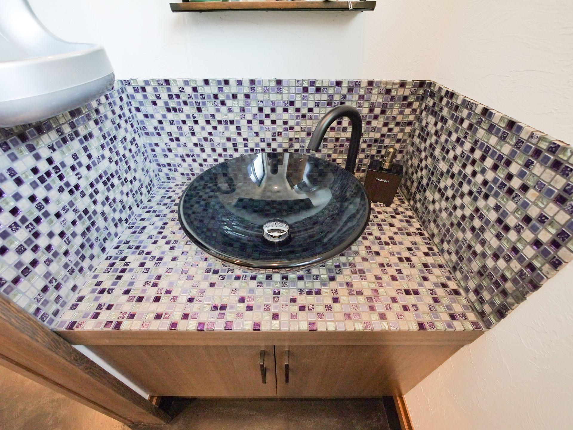造作の洗面台についてご紹介いたします!